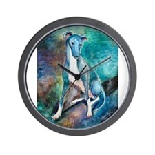 A Greyhound Wall Clock