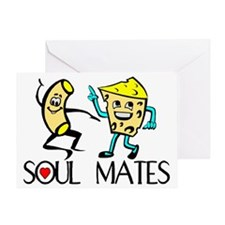 Macaroni And Cheese Greeting Card