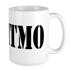 Love Gitmo Large Mug