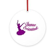Purple Danse Orientale Keepsake (Round)