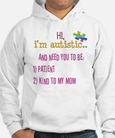 Hi,autism awareness tee Hoodie Sweatshirt