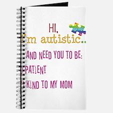 Hi,autism awareness tee Journal