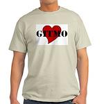 Love Gitmo Ash Grey T-Shirt