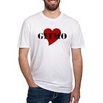 Love Gitmo Fitted T-Shirt