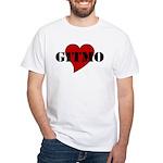 Love Gitmo White T-Shirt