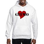 Love Gitmo Hooded Sweatshirt