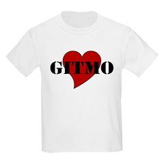 Love Gitmo Kids T-Shirt