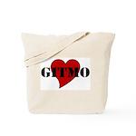 Love Gitmo Tote Bag