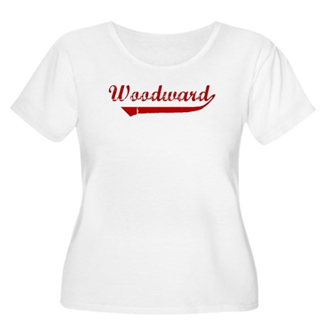Woodward (red vintage) Women's Plus Size Scoop Nec