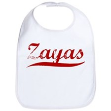 Zayas (red vintage) Bib