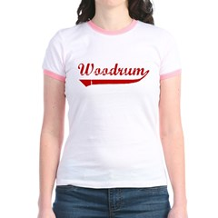 Woodrum (red vintage) T