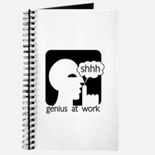 Shhh Genius at Work Journal
