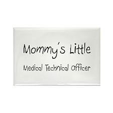 Mommy's Little Medical Technical Officer Rectangle