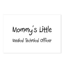Mommy's Little Medical Technical Officer Postcards
