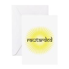 rawtarded star Greeting Card
