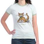 Catnipped Jr. Ringer T-Shirt