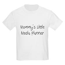 Mommy's Little Media Planner Kids Light T-Shirt