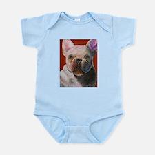 French Bulldog Painting Infant Creeper