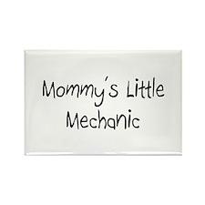 Mommy's Little Mechanic Rectangle Magnet