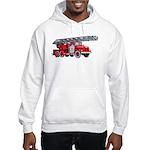 Fire Engine Hooded Sweatshirt