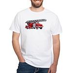 Fire Engine White T-Shirt