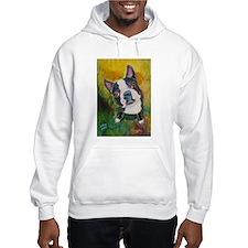 A Boston Terrier Hoodie