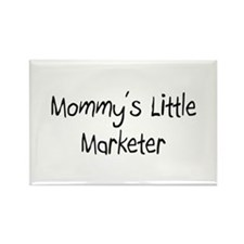 Mommy's Little Marketer Rectangle Magnet (10 pack)