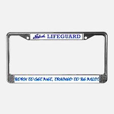 Splash Wave Pool - Lifeguard ::License Plate Frame