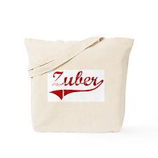Zuber (red vintage) Tote Bag