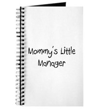 Mommy's Little Manager Journal