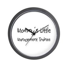 Mommy's Little Management Trainee Wall Clock