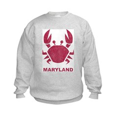 Crab Maryland Sweatshirt