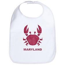 Crab Maryland Bib