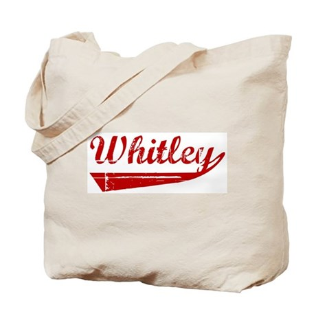 Whitley (red vintage) Tote Bag