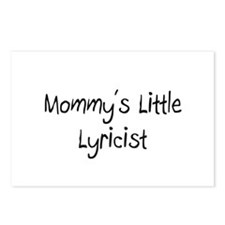 Mommy's Little Lyricist Postcards (Package of 8)