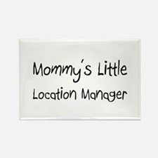 Mommy's Little Location Manager Rectangle Magnet
