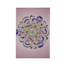 Iris Ring Rectangle Magnet