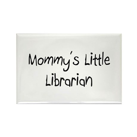 Mommy's Little Librarian Rectangle Magnet