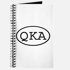 QKA Oval Journal