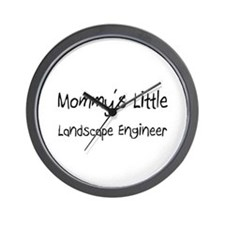 Mommy's Little Landscape Engineer Wall Clock