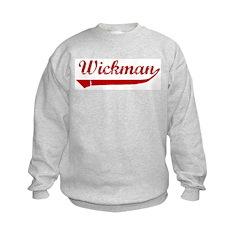 Wickman (red vintage) Sweatshirt