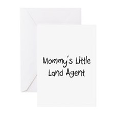 Mommy's Little Land Agent Greeting Cards (Pk of 10