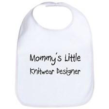 Mommy's Little Knitwear Designer Bib