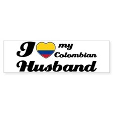 I love my Colombian Husband Bumper Bumper Sticker