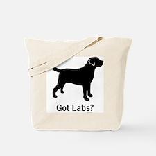 Got Labs? Silhouette Tote Bag