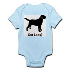 Got Labs? Silhouette Infant Bodysuit