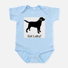 Got Labs? Silhouette Infant Bodysuit