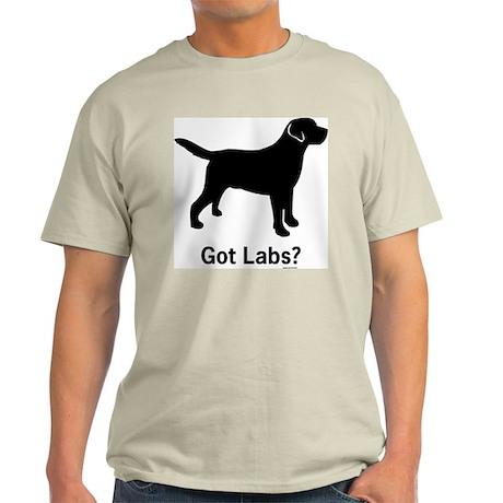 Got Labs? Silhouette Light T-Shirt