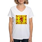 Scotland Women's V-Neck T-Shirt