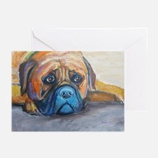 Henry a Bullmastiff Greeting Cards (Pk of 10)